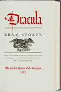 Books:Literature 1900-up, [Limited Editions Club]. Felix Hoffmann, illustrator.SIGNED/LIMITED. Bram Stoker. Dracula. New York: The LimitedEd...