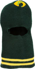 Football Collectibles:Others, 1960s Bart Starr Game Worn Green Bay Packers Ski Mask....
