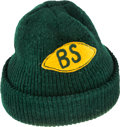 Football Collectibles:Others, 1970's Bart Starr Game Worn Cap. ...