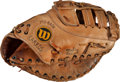 Baseball Collectibles:Others, 1990's Eric Karros Game Used Fielder's Mitt. ...