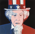 Post-War & Contemporary:Pop, Andy Warhol (American, 1928-1987). Uncle Sam (fromMyths), 1981. Unique screenprint in colors. 38 x 38 inches(96.5 ...
