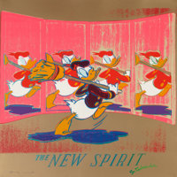 Andy Warhol (American, 1928-1987) The New Spirit (Donald Duck) (from Ads), 1985 Screenpri