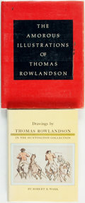 Books:Art & Architecture, Thomas Rowlandson, subject. Pair of Books. Various publishers and dates.... (Total: 2 Items)