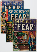 Golden Age (1938-1955):Horror, Haunt of Fear Group of 8 (EC, 1951-54) Condition: Average GD....(Total: 8 Comic Books)