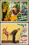 """Movie Posters:Comedy, Arsenic and Old Lace & Other Lot (Warner Brothers, 1944). LobbyCards (2) (11"""" X 14""""). Comedy.. ... (Total: 2 Items)"""
