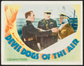 "Movie Posters:Action, Devil Dogs of the Air (Warner Brothers, 1935). Lobby Card (11"" X14""). Action.. ..."