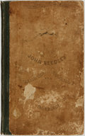 Books:Literature Pre-1900, [William L. M'Clintock and John Neal]. John Beedle's SleighRide, Courtship, and Marriage. New York: C. Wells, 1841....