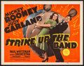 "Movie Posters:Musical, Strike Up the Band (MGM, 1940). Title Lobby Card (11"" X 14""). Musical.. ..."