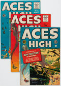 Golden Age (1938-1955):Adventure, Aces High #1-5 Group (EC, 1955) Condition: Average FN+.... (Total: 5 Comic Books)