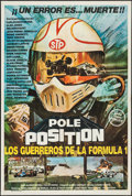 "Movie Posters:Sports, Speed Fever (United Artists, 1979). Argentinean Poster (29"" X 43""). Sports. Alternate Title: Pole Position.. ..."
