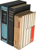 Books:Literature 1900-up, James Joyce. Ulysses. New York: Random House, 1934. FirstAmerican edition. Octavo. [768], [6, blank] pages. ... (Total: 3Items)