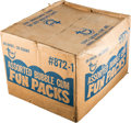 """Baseball Cards:Unopened Packs/Display Boxes, 1978 Topps """"Fun Packs"""" Factory Sealed Case with 36 Unopened Bags! ..."""