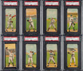 Baseball Cards:Sets, 1911 T201 Mecca Double Folder Baseball Complete Set (50). ...