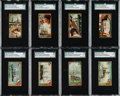 Non-Sport Cards:Sets, 1887 N83 Ocean and River Steamers & 1889 N226 Naval Vessels Of The World Sets Pair (2). ...