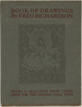 Books:Art & Architecture, [Political Cartoons]. Fred Richardson. Book of Drawings. Being a Selection from Those Done for the Chicago D...