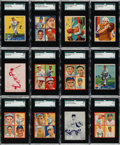 Baseball Cards:Lots, 1933 - 1936 Goudey, Diamond Star & Batter-Up Collection (200+)....
