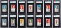 Baseball Cards:Sets, 1911 D359 Rochester Baking SGC Graded Partial Set (13) Plus Extra....