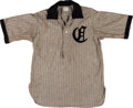 Baseball Collectibles:Uniforms, Circa 1900 Game Worn Baseball Jersey....