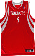 Basketball Collectibles:Uniforms, Early 2000's Steve Francis Game Worn Houston Rockets Jersey. ...