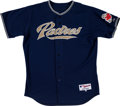Baseball Collectibles:Uniforms, 2006-09 Jake Peavy Game Worn San Diego Padres Jersey. ...