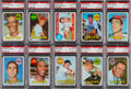 Baseball Cards:Lots, 1969 Topps Baseball PSA Gem Mint 10 Collection (10). ...