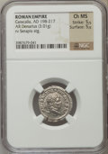 Ancients:Roman Imperial, Ancients: Caracalla (AD 198-217). AR denarius (3.01 gm)....