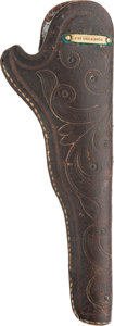 Western Expansion:Cowboy, Fabulous Tooled Slim-Jim Holster ...