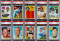 Baseball Cards:Lots, 1969 Topps Baseball PSA Gem Mint 10 High #'s Collection (10). ...