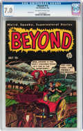 Golden Age (1938-1955):Horror, The Beyond #13 (Ace, 1952) CGC FN/VF 7.0 Off-white to whitepages....