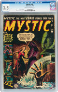 Golden Age (1938-1955):Horror, Mystic #10 (Atlas, 1952) CGC VG- 3.5 Cream to off-white pages....