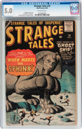 Silver Age (1956-1969):Adventure, Strange Tales #70 (Atlas, 1959) CGC VG/FN 5.0 Off-white pages....
