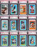 Baseball Cards:Sets, 1970 to 1983 Kellogg's Baseball Complete Set Run (14) Plus Six Extra Sets. ...