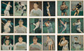 Baseball Cards:Sets, 1951 Berk Ross Panel Complete Set (72) With Original Boxes. ...