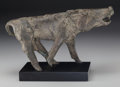 Texas:Early Texas Art - Modernists, Charles Umlauf (American, 1911-1994). Wild Boar. Bronze.7-1/2 inches (19.1 cm) high on a 1-1/4 inches (3.2 cm) high mar...