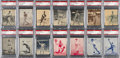 Baseball Cards:Lots, 1934-36 R318 Batter-Up PSA Graded Collection (47 Different). ...