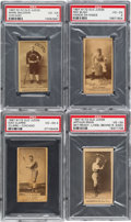 Baseball Cards:Lots, 1887 N172 Old Judge PSA VG-EX 4 Collection (4). ...