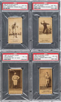 Baseball Cards:Lots, 1887 N172 Old Judge PSA Graded Collection (4). ...