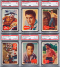 Non-Sport Cards:Sets, 1956 Bubbles (Topps) Elvis Complete Set (66)....