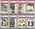 "Non-Sport Cards:Sets, 1966 Fleer ""Three Stooges"" High Grade Complete Set (66). ..."