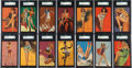 """Non-Sport Cards:Singles (Pre-1950), 1940-45 Mutoscope """"Artist Pin Ups"""" High Grade Complete Set (64) Plus Variation. ..."""