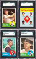 Baseball Cards:Sets, 1963 Topps Baseball Near Set (573/576). ...