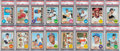 Baseball Cards:Sets, 1968 Topps Baseball Extremely High Grade Complete Set (598). ...