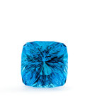 Gems:Faceted, Gemstone: Topaz - 37.1 Ct.. Jos Region, Nigeria. 17.5 x17.5 x 14.53 mm. ...
