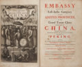 Books:Travels & Voyages, John Nieuhoff. [John Ogilby, translator]. An Embassy from the East-India Company of the United Provinces, to the Grand T...