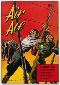 Air Ace V2#1 (Street & Smith, 1944) Condition: FN+