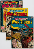Golden Age (1938-1955):War, Star Spangled War Stories #14, 18, and 45 Group (DC, 1953-56)....(Total: 3 Comic Books)