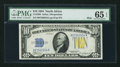 Small Size:World War II Emergency Notes, Fr. 2308 $10 1934 North Africa Mule Silver Certificate. PMG GemUncirculated 65 EPQ.. ...
