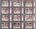 Baseball Cards:Sets, 1941 R330 Double Play PSA Graded Partial Set (43). ...