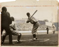 Baseball Collectibles:Photos, 1933 Babe Ruth Last Appearance as Pitcher Original Photograph....