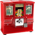 Baseball Collectibles:Others, Circa 1960 Trading Card & Bubble Gum Vending Machine. ...